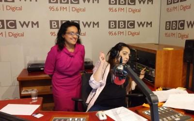 Valentine's Interview on BBC Radio